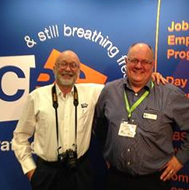 CBS Inc. Staff at the Aging and Disabilities expo