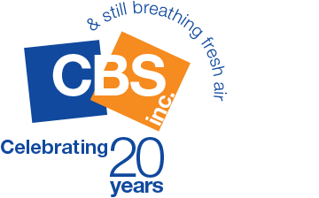 CBS Inc. logo for their 20th birthday