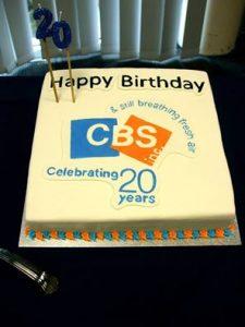 20-year Celebration Cake