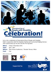 International Day for People with a Disability