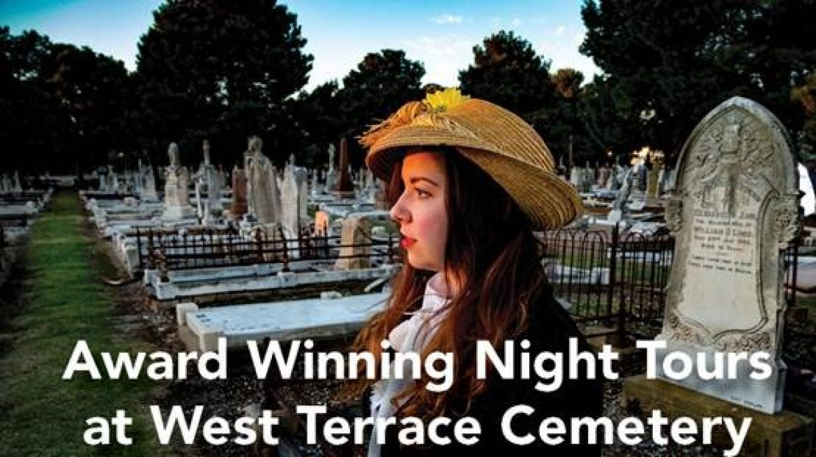 Club CBS Inc. Night Tour at West Terrace Cemetery